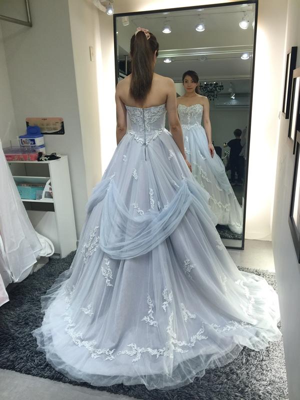 WHITE 手工婚紗試穿-白紗禮服 (59)