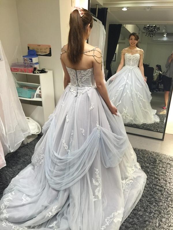 WHITE 手工婚紗試穿-白紗禮服 (64)