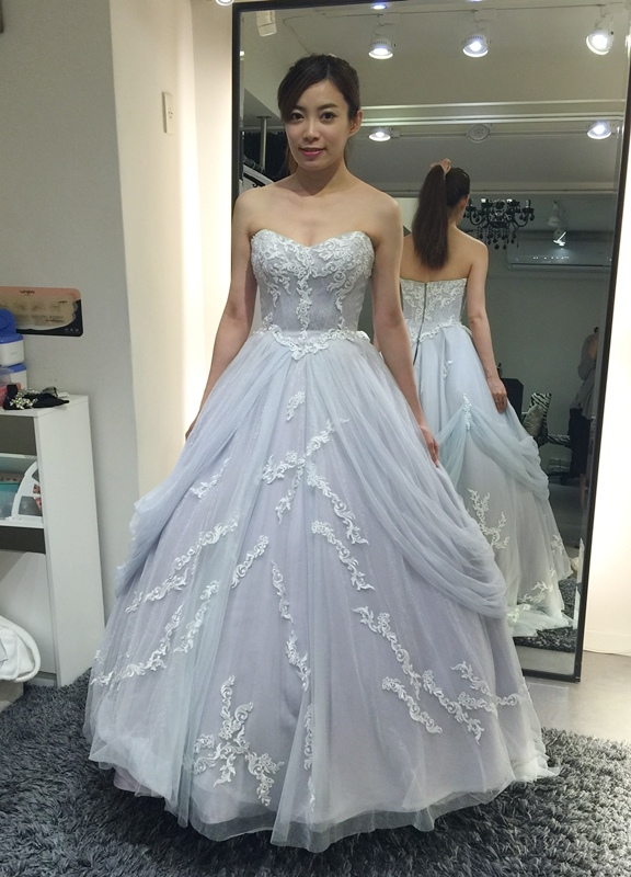 WHITE 手工婚紗試穿-白紗禮服 (60)