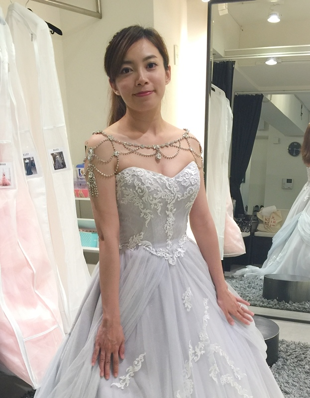 WHITE 手工婚紗試穿-白紗禮服 (63)