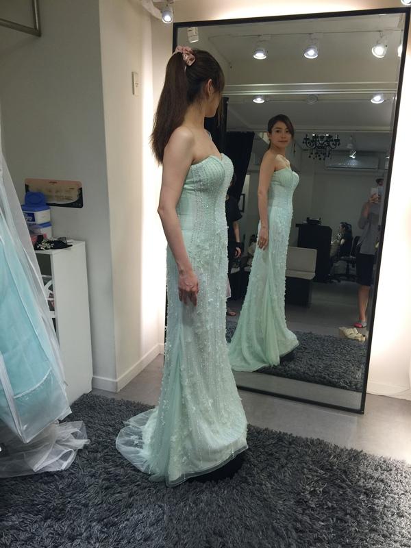 WHITE 手工婚紗試穿-白紗禮服 (72)