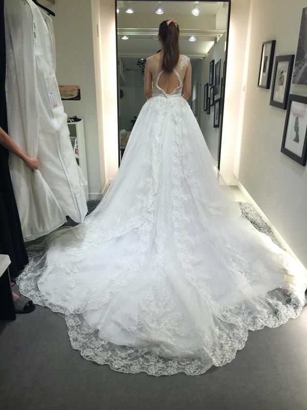 WHITE 手工婚紗試穿-白紗禮服 (81)