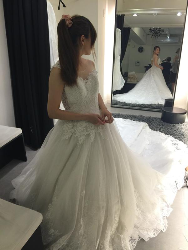 WHITE 手工婚紗試穿-白紗禮服 (83)