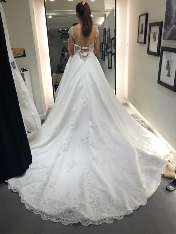 WHITE 手工婚紗試穿-白紗禮服 (85)