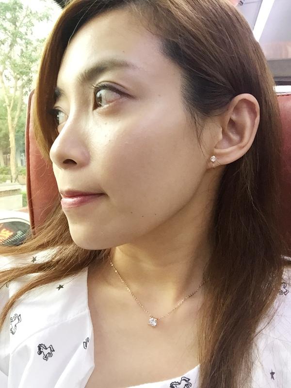 Mrs.Yue飾品屋夾式耳環-精緻小巧矽膠耳夾耳環-施華洛世奇水晶元素-無耳洞女孩飾品 (25)