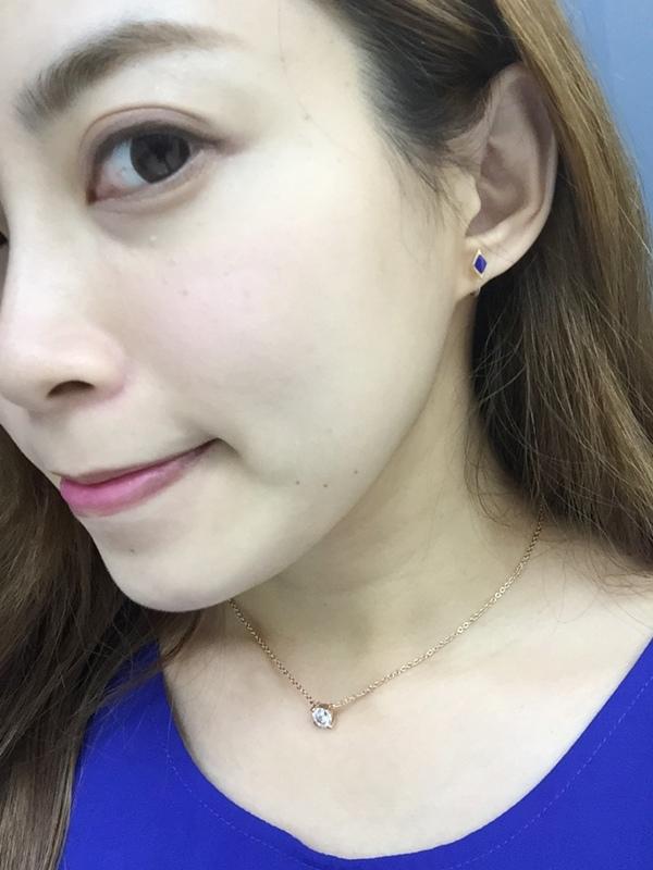 Mrs.Yue飾品屋夾式耳環-精緻小巧矽膠耳夾耳環-施華洛世奇水晶元素-無耳洞女孩飾品 (61)