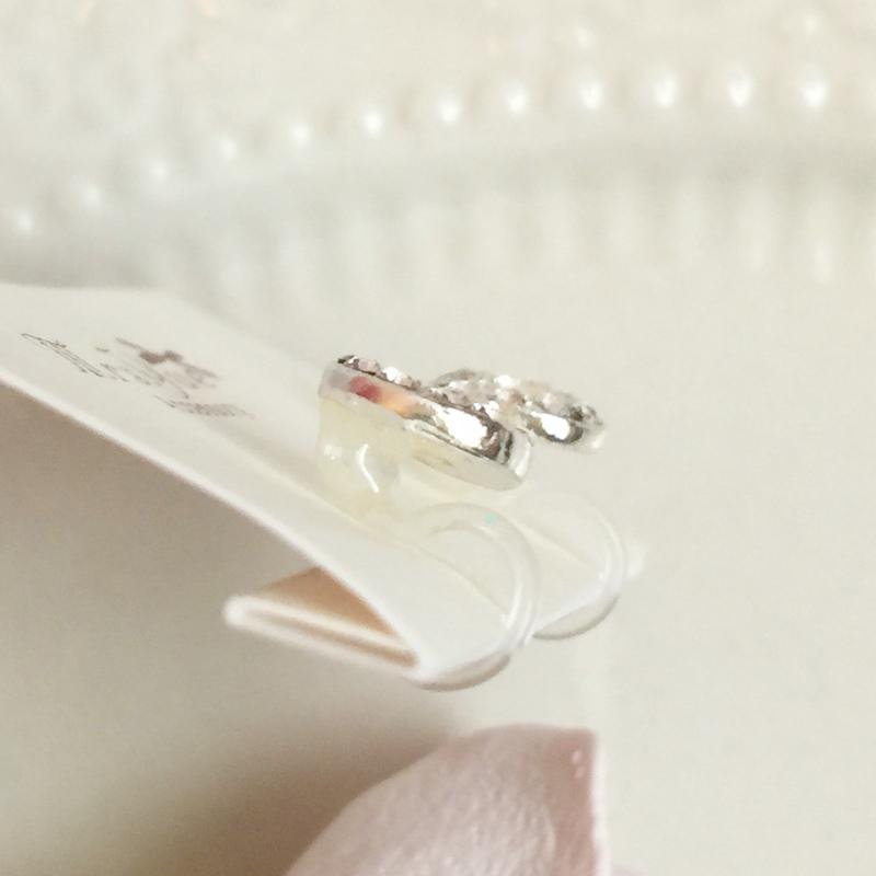 Mrs.Yue飾品屋夾式耳環-精緻小巧矽膠耳夾耳環-施華洛世奇水晶元素-無耳洞女孩飾品 (49)