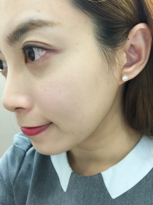 Mrs.Yue飾品屋夾式耳環-精緻小巧矽膠耳夾耳環-施華洛世奇水晶元素-無耳洞女孩飾品 (33)