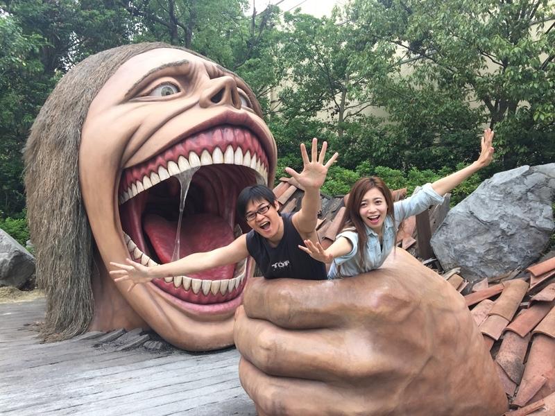 日本大阪環球影城USJ Universal Studio japan osaka-進擊的巨人 (98)