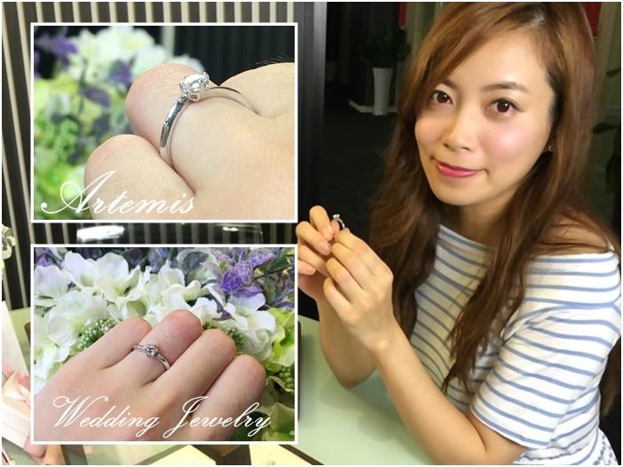 Wedding-Artemis Jewelry-亞緹蜜詩婚戒對戒鑽戒求婚戒 (1111)
