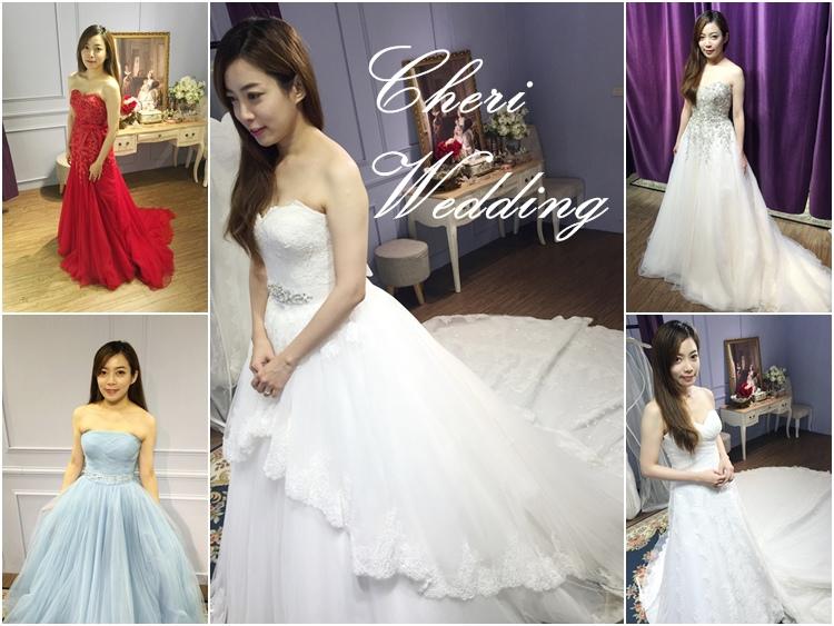 婚紗試穿-CHERI法式手工婚紗-白紗禮服-wedding gown (64)