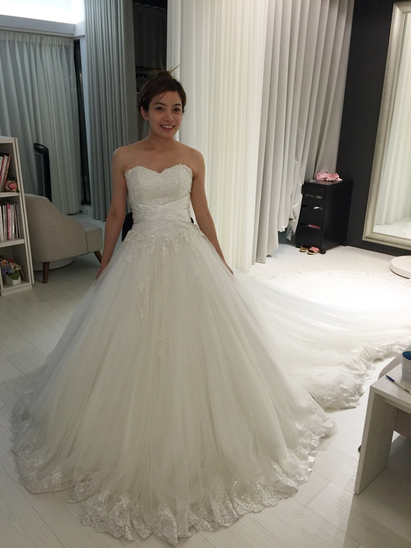 Wedding-My Party 手工婚紗試穿-禮服試穿-白紗 (46)