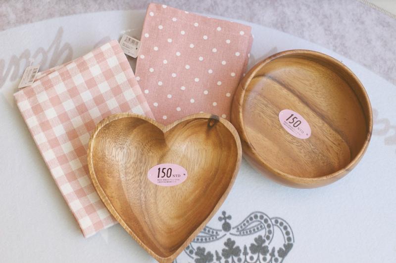 Natural Kitchen 松高店-日本雜貨愛心木盤沙拉木碗餐盤餐墊 (2)