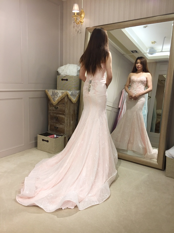 樂許Le Chic Bridal 手工婚紗 婚紗試穿 命定婚紗 Luminous Haute Couture 高級訂製 (24)