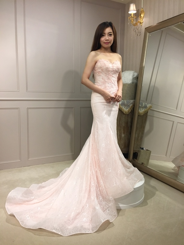 樂許Le Chic Bridal 手工婚紗 婚紗試穿 命定婚紗 Luminous Haute Couture 高級訂製 (22)