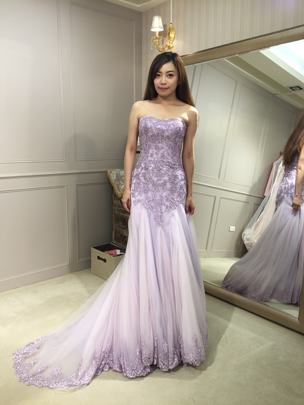 樂許Le Chic Bridal 手工婚紗 婚紗試穿 命定婚紗 Luminous Haute Couture 高級訂製 (34)