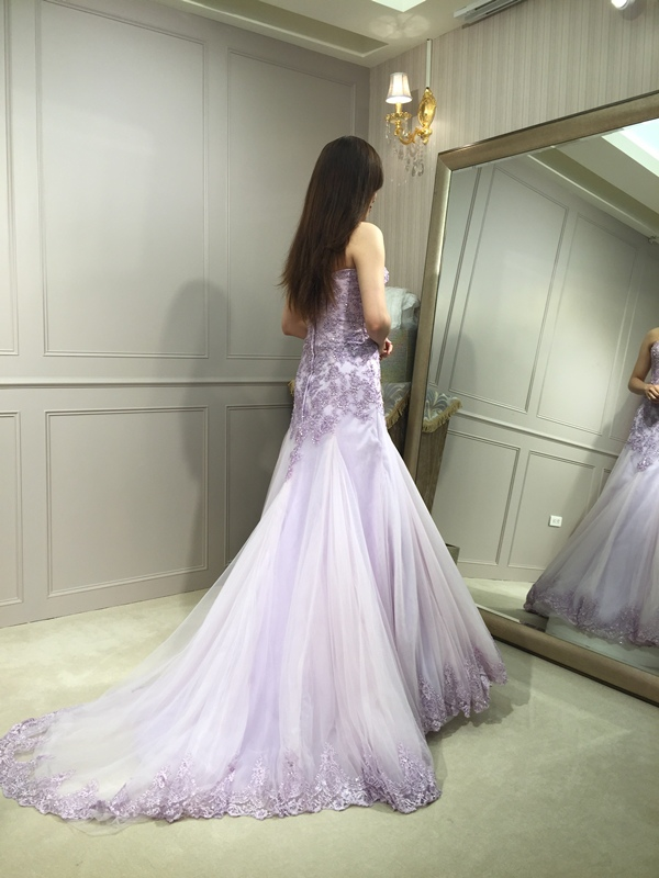 樂許Le Chic Bridal 手工婚紗 婚紗試穿 命定婚紗 Luminous Haute Couture 高級訂製 (30)