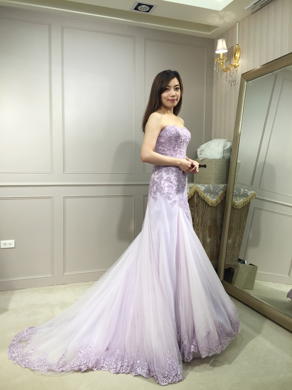 樂許Le Chic Bridal 手工婚紗 婚紗試穿 命定婚紗 Luminous Haute Couture 高級訂製 (32)