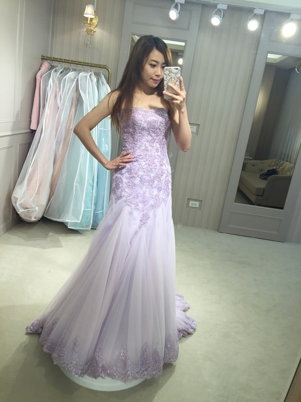 樂許Le Chic Bridal 手工婚紗 婚紗試穿 命定婚紗 Luminous Haute Couture 高級訂製 (42)