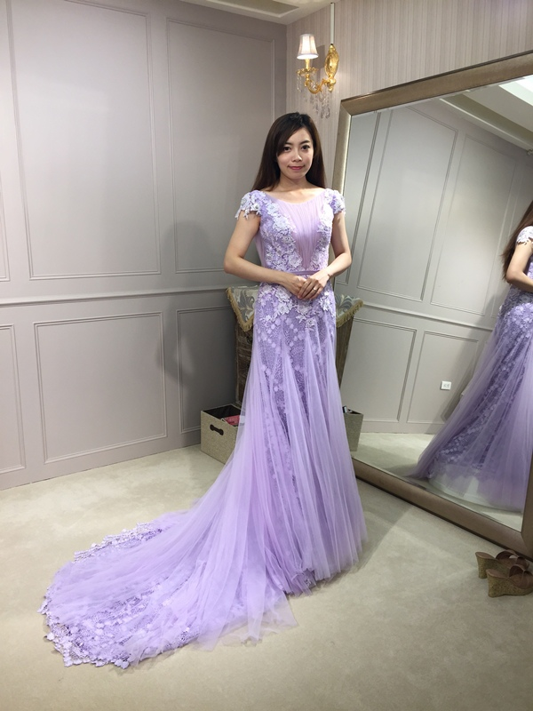 樂許Le Chic Bridal 手工婚紗 婚紗試穿 命定婚紗 Luminous Haute Couture 高級訂製 (49)