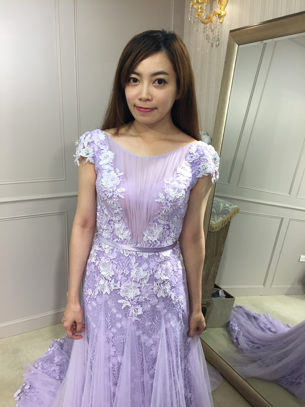 樂許Le Chic Bridal 手工婚紗 婚紗試穿 命定婚紗 Luminous Haute Couture 高級訂製 (53)