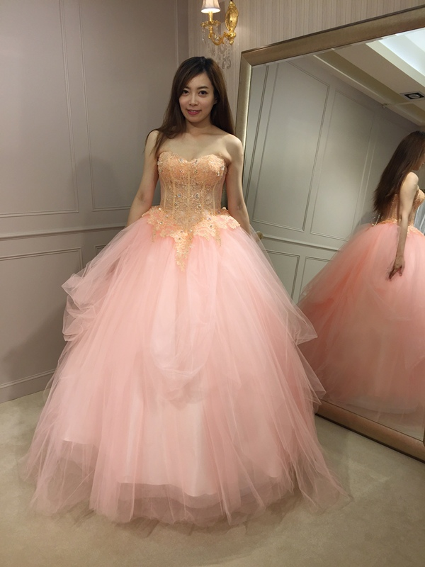 樂許Le Chic Bridal 手工婚紗 婚紗試穿 命定婚紗 Luminous Haute Couture 高級訂製 (73)