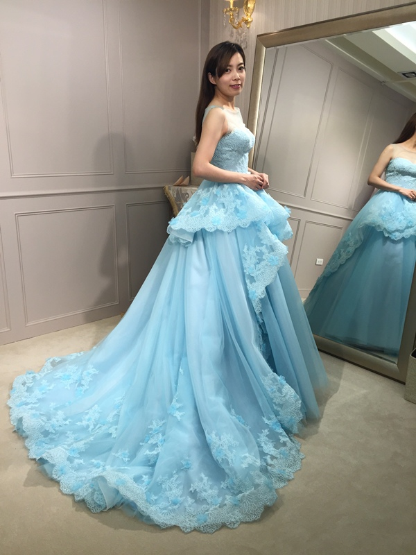 樂許Le Chic Bridal 手工婚紗 婚紗試穿 命定婚紗 Luminous Haute Couture 高級訂製 (124)