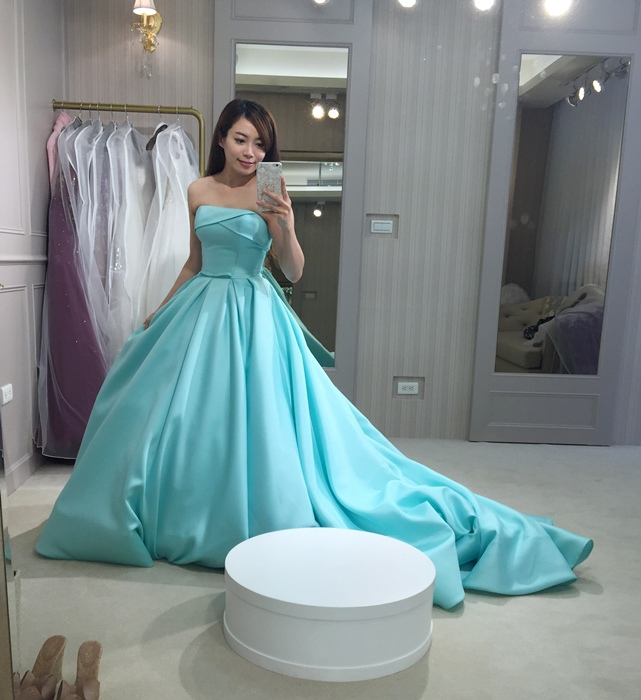 樂許Le Chic Bridal 手工婚紗 婚紗試穿 命定婚紗 Luminous Haute Couture 高級訂製 (154)
