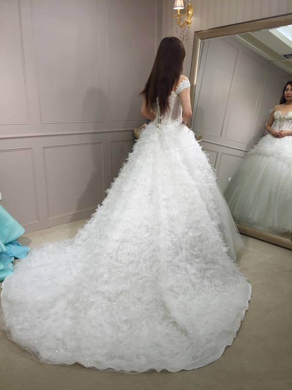 樂許Le Chic Bridal 手工婚紗 婚紗試穿 命定婚紗 Luminous Haute Couture 高級訂製 (168)