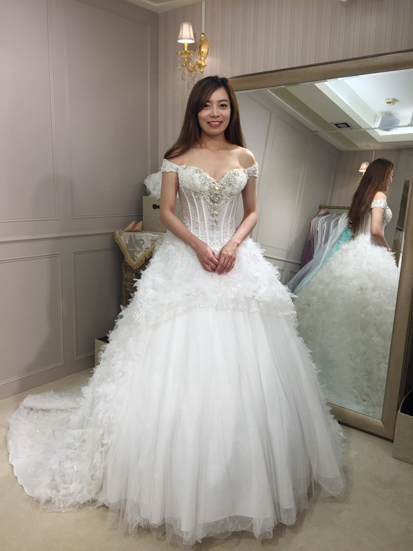 樂許Le Chic Bridal 手工婚紗 婚紗試穿 命定婚紗 Luminous Haute Couture 高級訂製 (176)