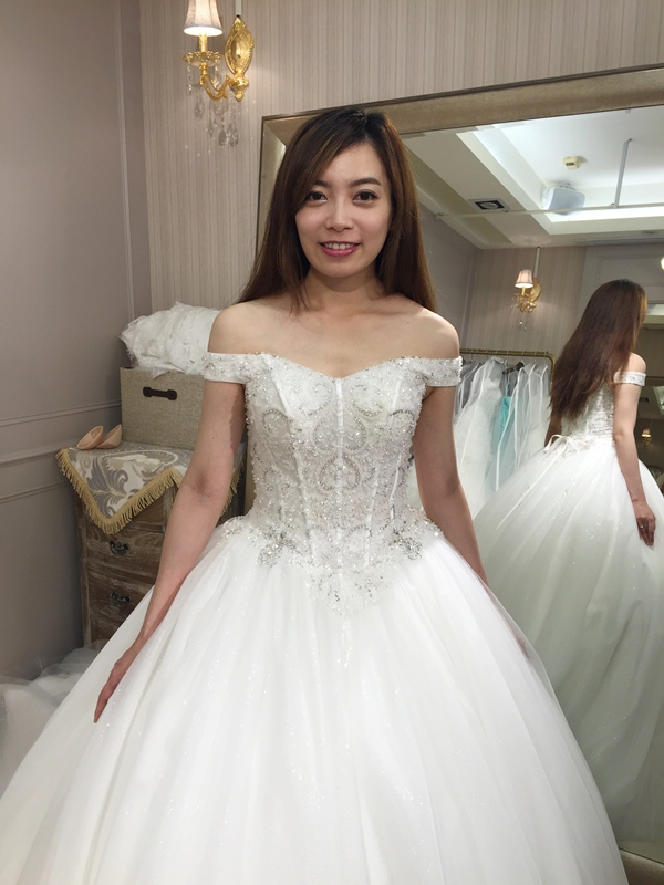 樂許Le Chic Bridal 手工婚紗 婚紗試穿 命定婚紗 Luminous Haute Couture 高級訂製 (193)