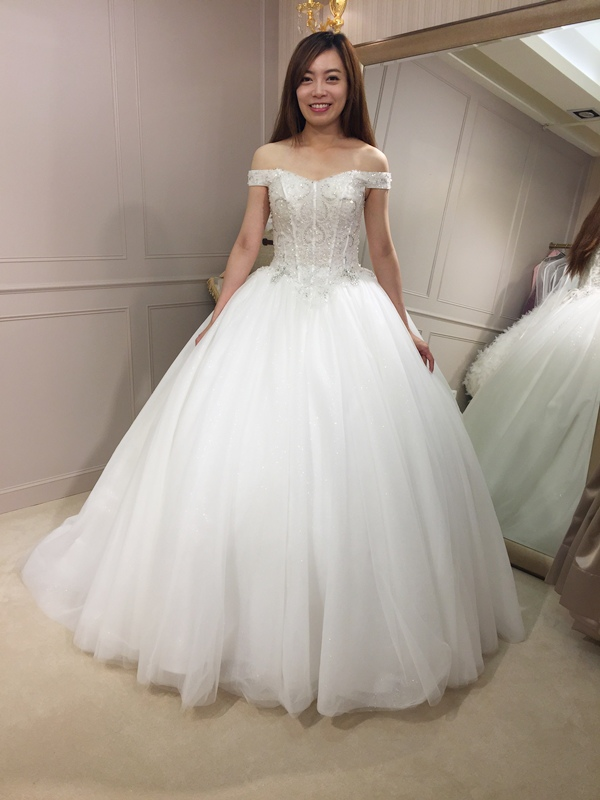 樂許Le Chic Bridal 手工婚紗 婚紗試穿 命定婚紗 Luminous Haute Couture 高級訂製 (187)