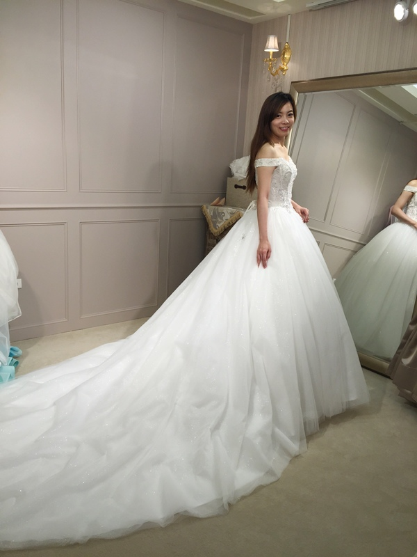 樂許Le Chic Bridal 手工婚紗 婚紗試穿 命定婚紗 Luminous Haute Couture 高級訂製 (185)