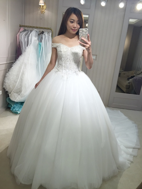 樂許Le Chic Bridal 手工婚紗 婚紗試穿 命定婚紗 Luminous Haute Couture 高級訂製 (180)