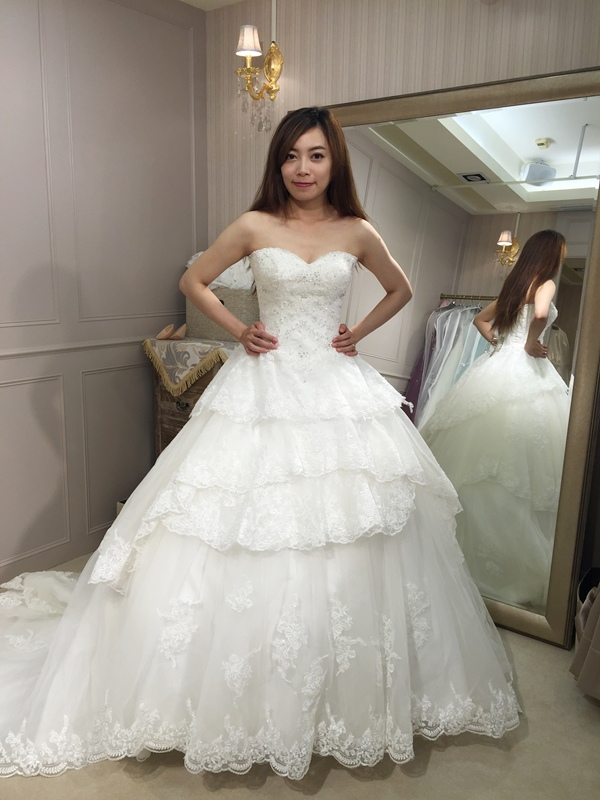 樂許Le Chic Bridal 手工婚紗 婚紗試穿 命定婚紗 Luminous Haute Couture 高級訂製 (203)