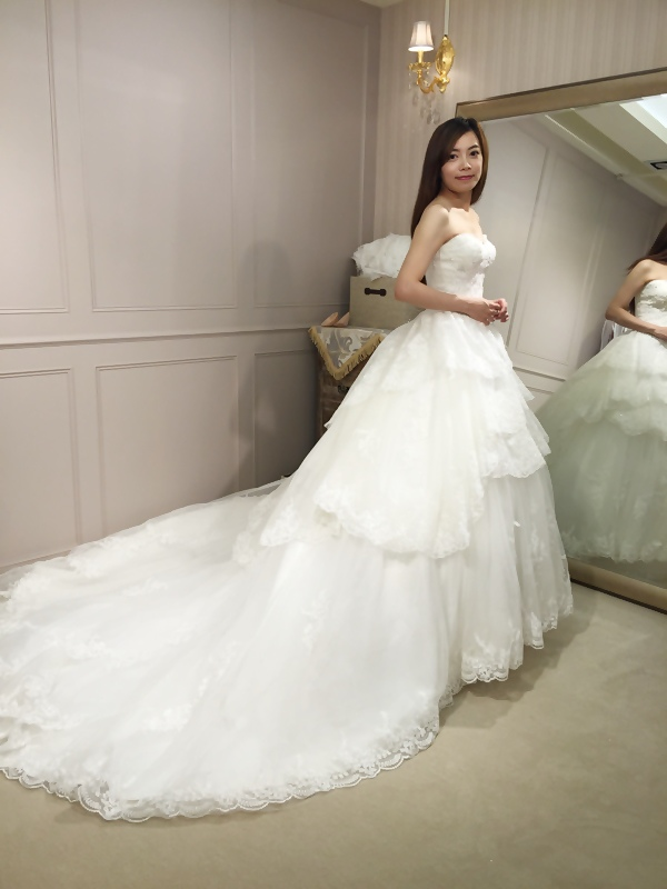 樂許Le Chic Bridal 手工婚紗 婚紗試穿 命定婚紗 Luminous Haute Couture 高級訂製 (201)