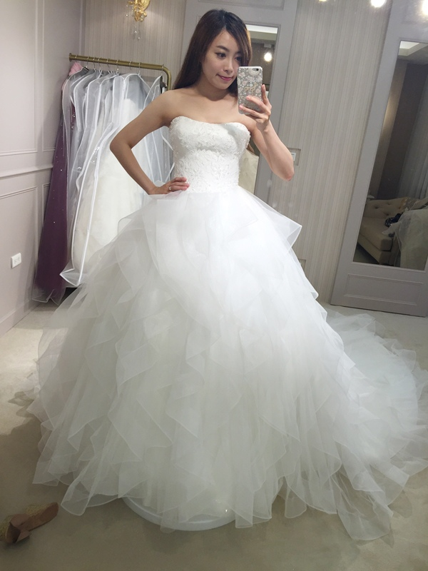 樂許Le Chic Bridal 手工婚紗 婚紗試穿 命定婚紗 Luminous Haute Couture 高級訂製 (210)