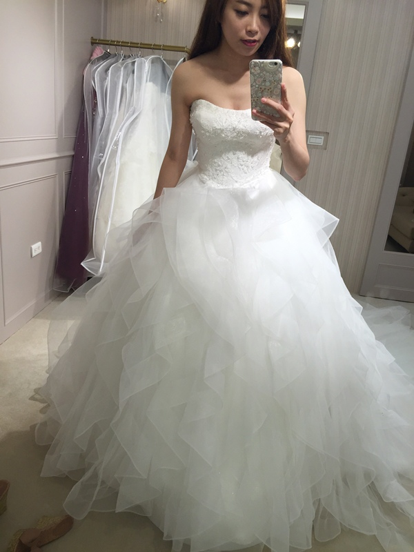 樂許Le Chic Bridal 手工婚紗 婚紗試穿 命定婚紗 Luminous Haute Couture 高級訂製 (211)