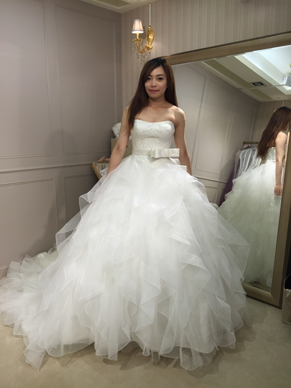 樂許Le Chic Bridal 手工婚紗 婚紗試穿 命定婚紗 Luminous Haute Couture 高級訂製 (218)