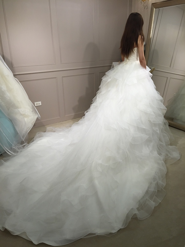 樂許Le Chic Bridal 手工婚紗 婚紗試穿 命定婚紗 Luminous Haute Couture 高級訂製 (215)