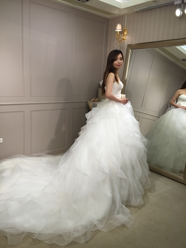 樂許Le Chic Bridal 手工婚紗 婚紗試穿 命定婚紗 Luminous Haute Couture 高級訂製 (217)