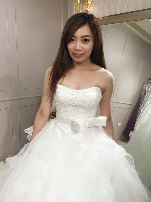 樂許Le Chic Bridal 手工婚紗 婚紗試穿 命定婚紗 Luminous Haute Couture 高級訂製 (221)