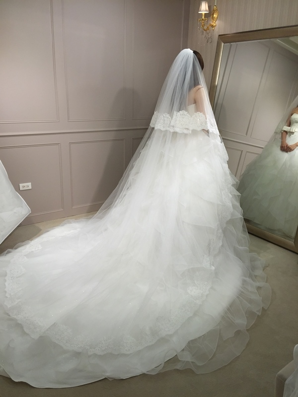 樂許Le Chic Bridal 手工婚紗 婚紗試穿 命定婚紗 Luminous Haute Couture 高級訂製 (226)