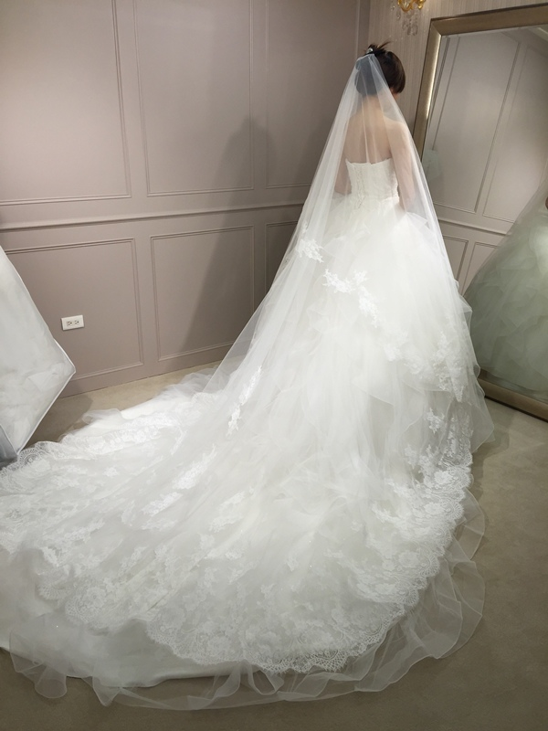 樂許Le Chic Bridal 手工婚紗 婚紗試穿 命定婚紗 Luminous Haute Couture 高級訂製 (232)