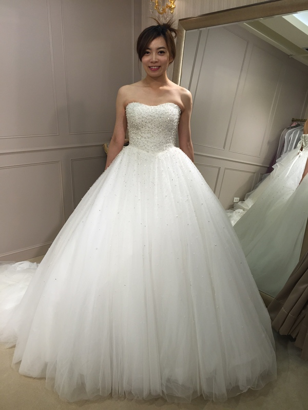 樂許Le Chic Bridal 手工婚紗 婚紗試穿 命定婚紗 Luminous Haute Couture 高級訂製 (244)