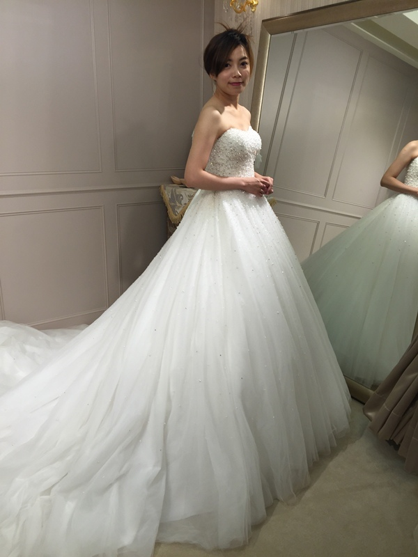 樂許Le Chic Bridal 手工婚紗 婚紗試穿 命定婚紗 Luminous Haute Couture 高級訂製 (243)