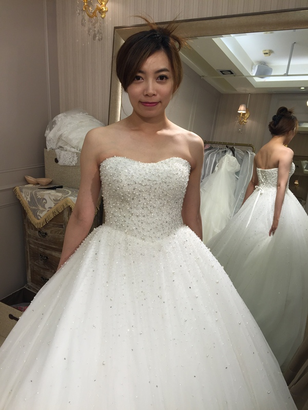 樂許Le Chic Bridal 手工婚紗 婚紗試穿 命定婚紗 Luminous Haute Couture 高級訂製 (247)