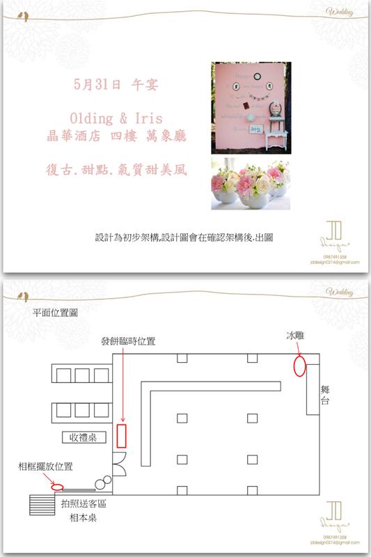 甜美氣質婚禮佈置JD Design 及甜點桌Candy Bar 好味生活Funeats  (2)