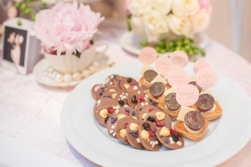 甜美氣質婚禮佈置JD Design 及甜點桌Candy Bar 好味生活Funeats  (65)