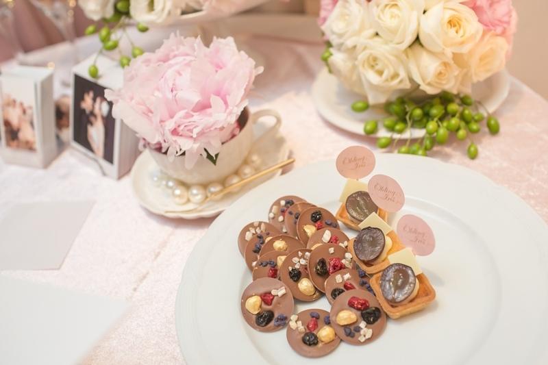 甜美氣質婚禮佈置JD Design 及甜點桌Candy Bar 好味生活Funeats  (88)